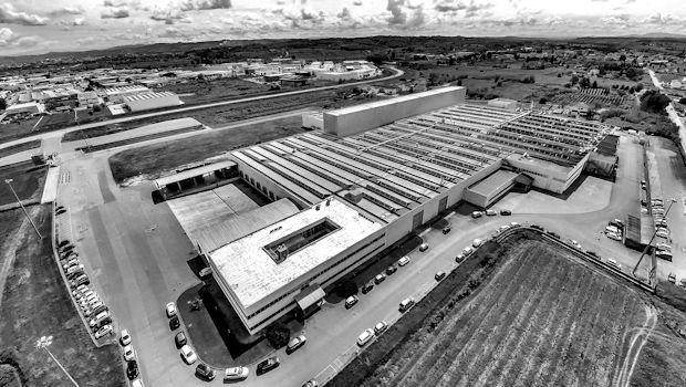 Veduta aerea stabilimento di Empoli (FI)