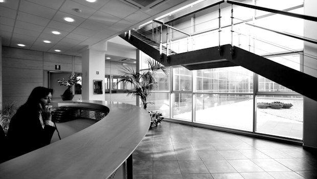 Reception. Stabilimento di Empoli (FI)